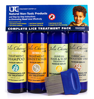 Lice Treatment Pack