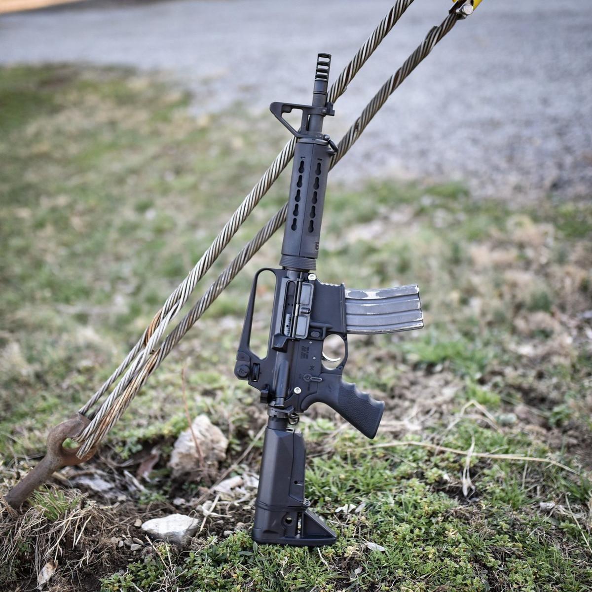 LMT 12 Gas Piston AR-15 Upper CQBPU12F 5.56 Le for sale