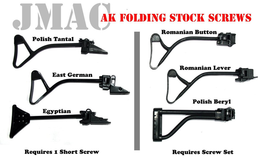 AKM Folding Stock Screws