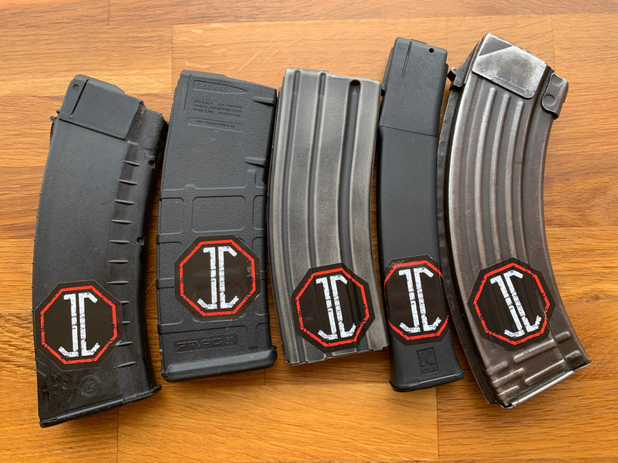JC Logo Mag Decal (5 pack)