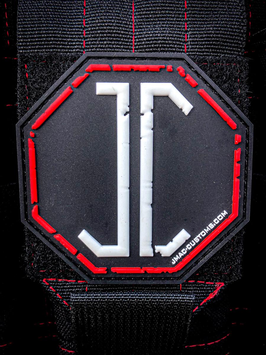 "JC Logo Patch 3"""