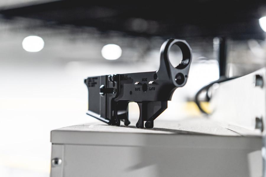 AR-15 M4 Forged Lower Receiver - JC Logo