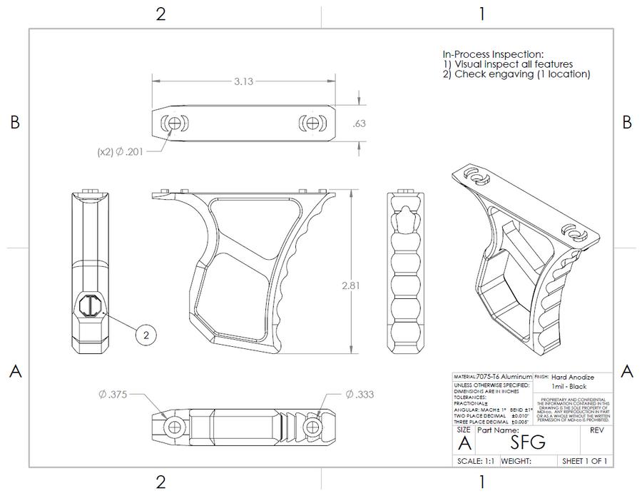 SFG - Skeleton Forward Grip
