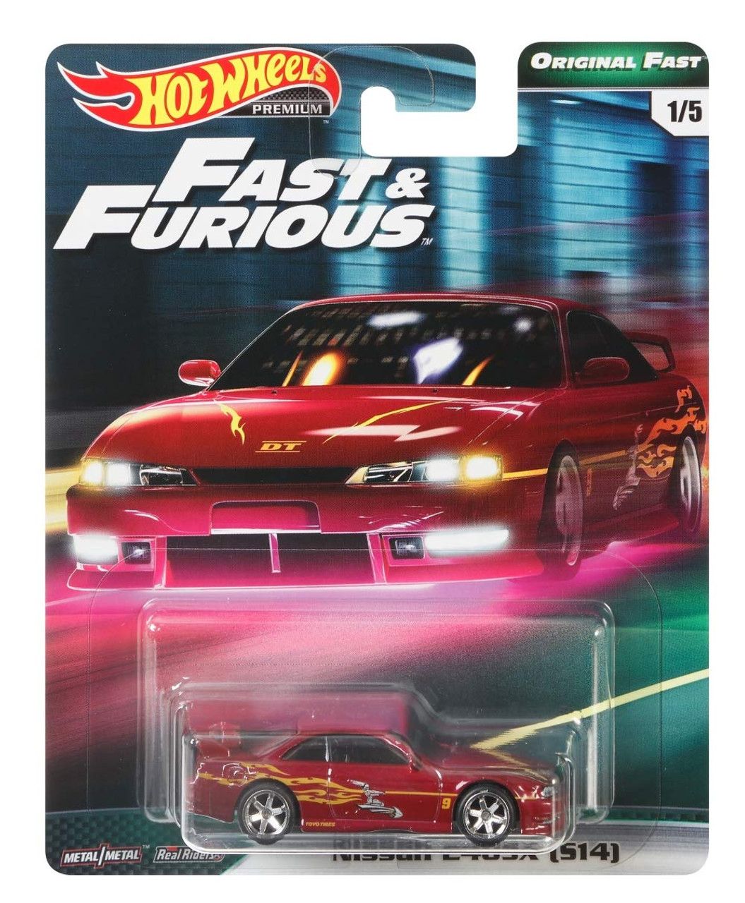 Nissan 240sx S14 Hot Wheels Original Fast Hnrs Oc