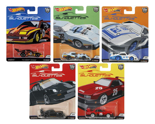 Hot Wheels Car Culture Silhouettes (Set of 5)