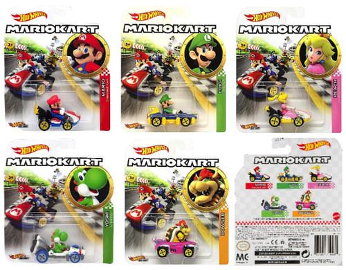 Hot Wheels Mario Kart (Set of 5)