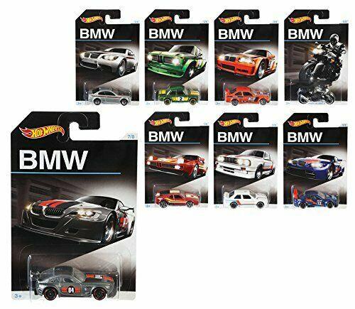 Hot Wheels BMW Series (Set of 8)