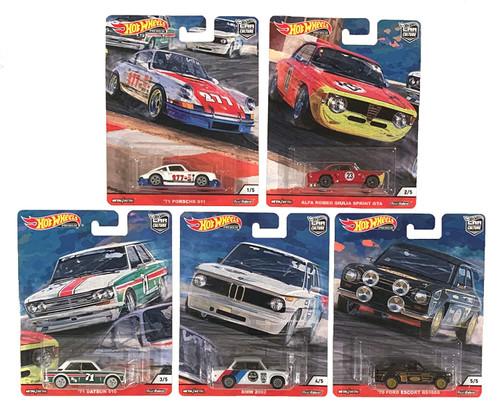 Hot Wheels Door Slammers (Set of 5)