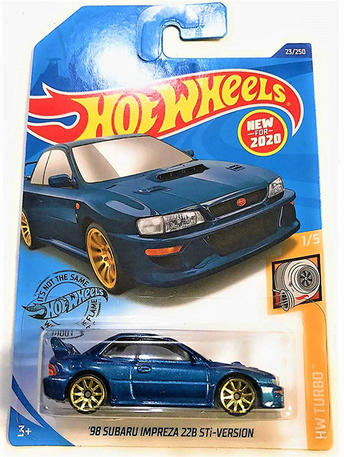 Subaru Impreza 22B STi - Hot Wheels Main Line