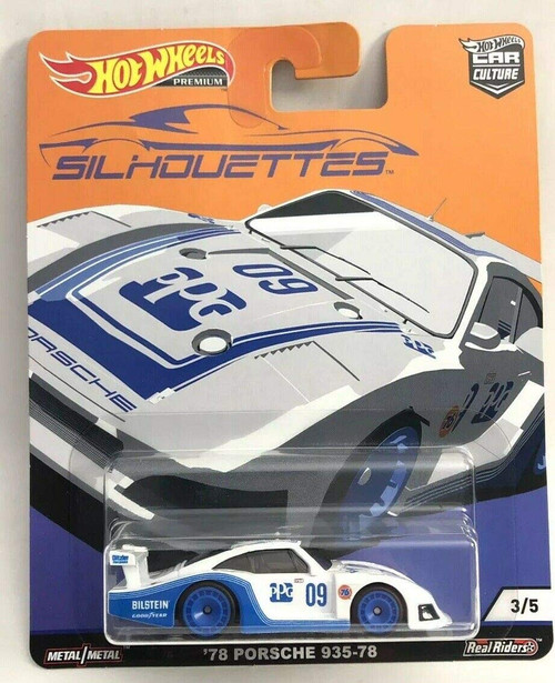 Porsche 935-78 - Hot Wheels Silhouette