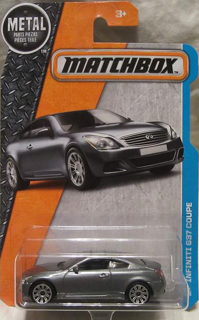 Infiniti G37 Silver - Matchbox