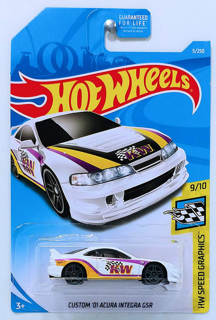Acura Integra GSR K&W - Hot Wheels