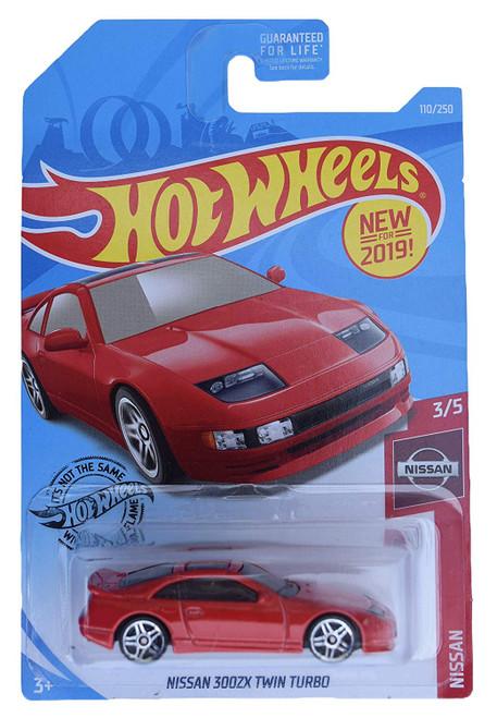 Nissan 300ZX Red - Hot Wheels