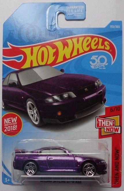 Nissan Skyline R33 GTR Purple - Hot Wheels