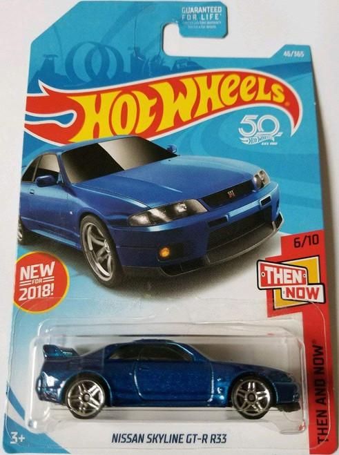 Nissan Skyline R33 GTR Blue - Hot Wheels