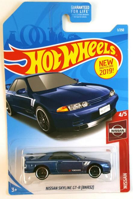 Nissan Skyline R32 GTR Blue - Hot Wheels
