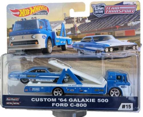 Team Transporter Hot Wheels Car Culture - Ford Galaxie 500 1964 C-800