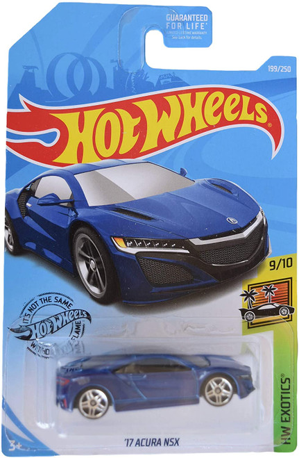 Acura NSX 2017 (Blue) - Hot Wheels