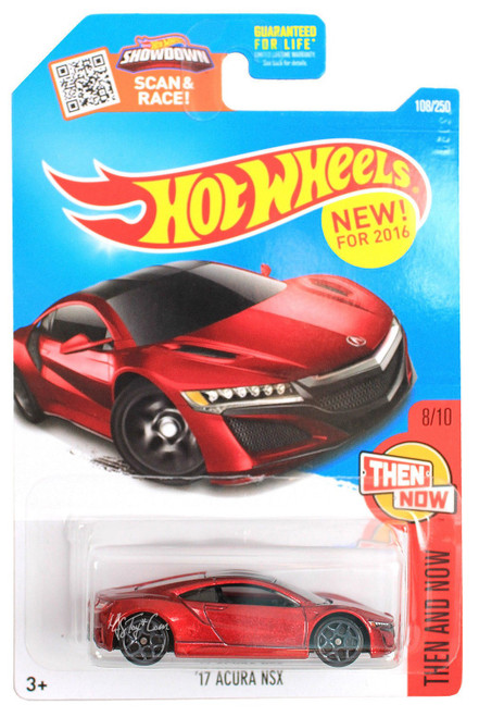 Acura NSX 2017 (Red) - Hot Wheels