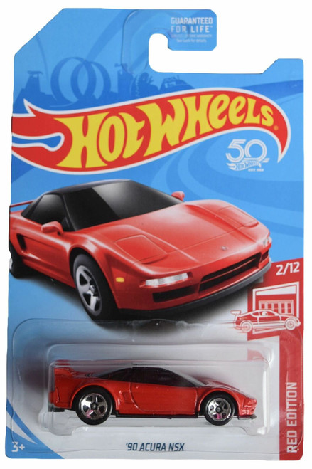 Acura NSX 1990 (Red) - Hot Wheel