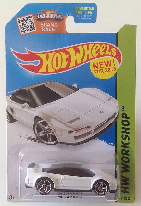 Acura NSX 1990 (White) - Hot Wheels