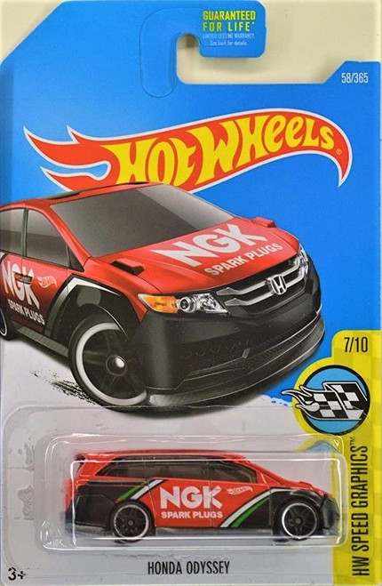 Honda Odyssey (Red) - Hot Wheels