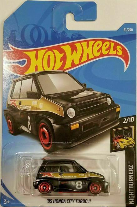 Honda City Turbo (Black) - Hot Wheels