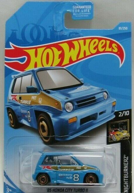Honda City Turbo (Blue) - Hot Wheels