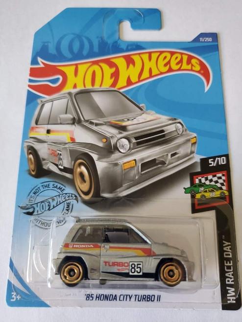 Honda City Turbo (Silver) - Hot Wheels