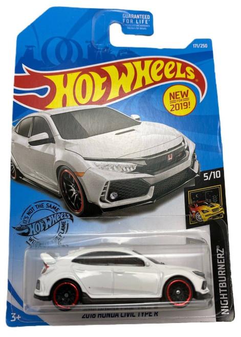 Honda Civic Type-R (White) - Hot Wheels