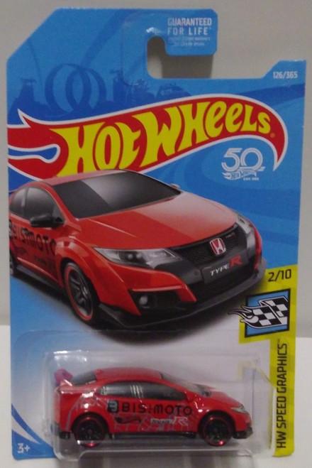 Honda Civic Type-R (Red) - Hot Wheels