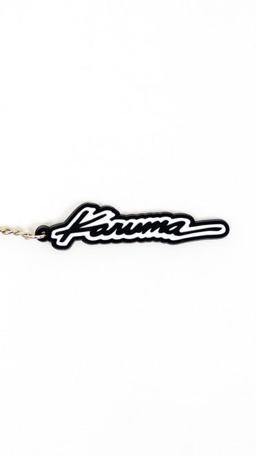 Karuma Official Script Rubber Keychain