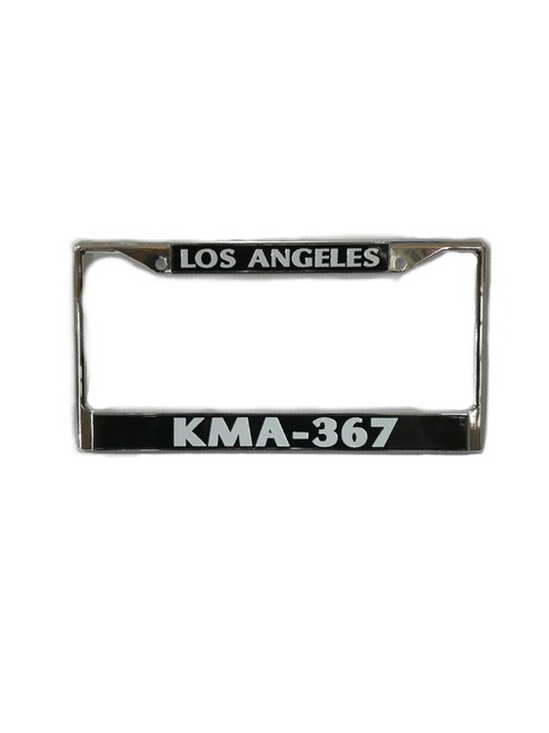 Authentic KMA-367 License Plate - Chrome