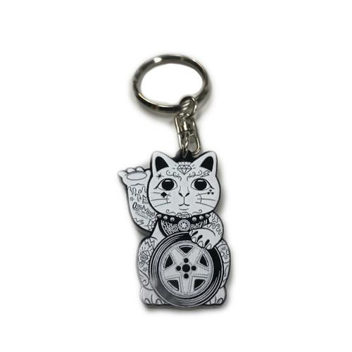 Ossanthehood Lucky Cat Keychain