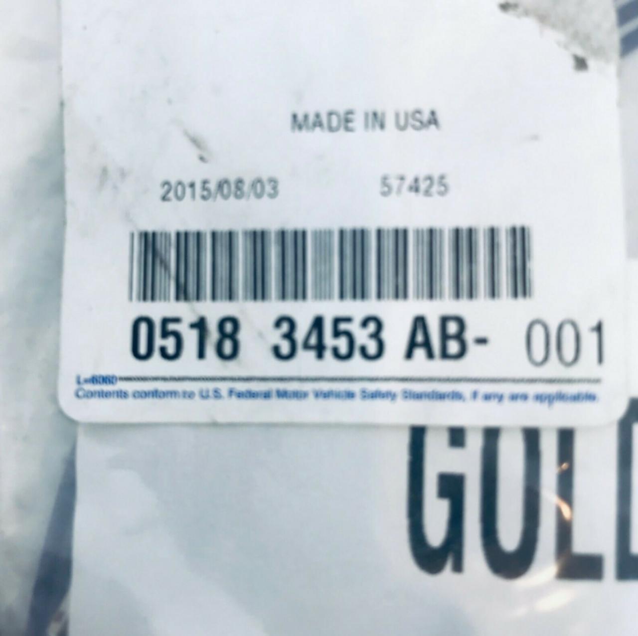 05183453AB Mopar Chrysler Dodge Wiring Kit