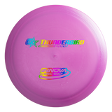 Disc colour and stamp design may vary.