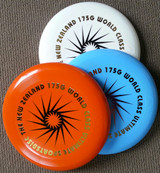 Disc colour and stamp may vary.