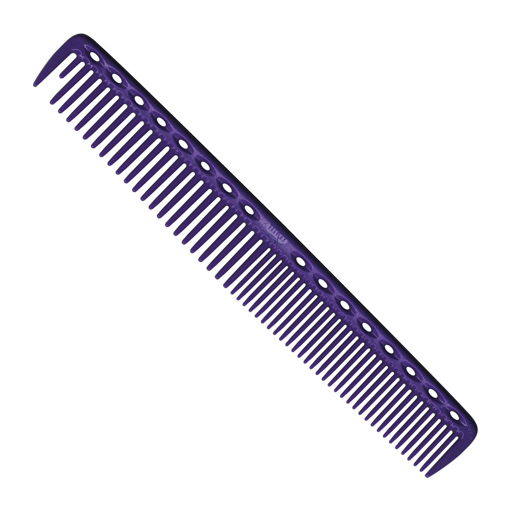 YS Park 337 Round Tooth Cutting Comb - Purple