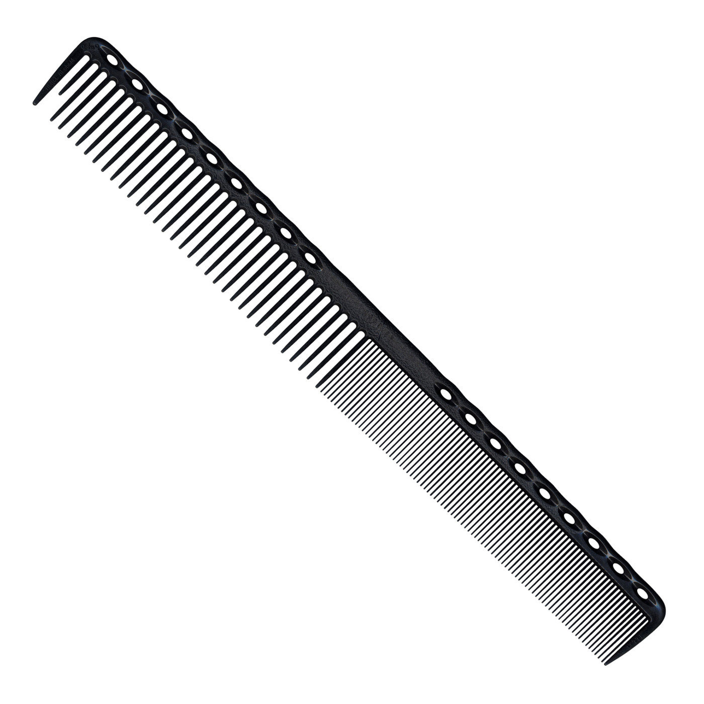 YS Park 331 Super Long Cutting Comb - Carbon Black