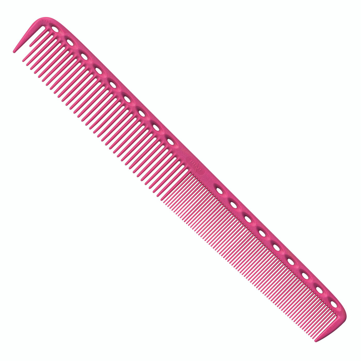 YS Park 335 Long Fine Tooth Cutting Comb - Pink