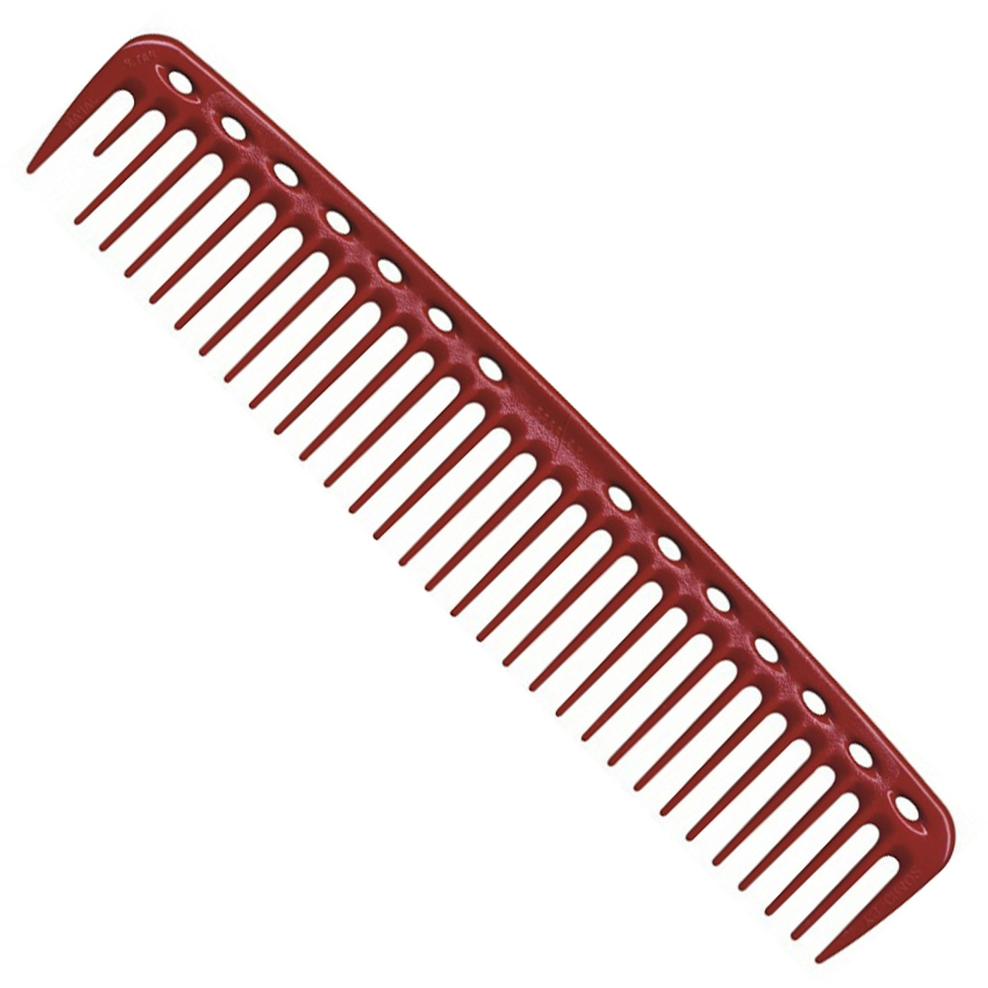 YS Park 402 Big Quick Cutting Comb - Red