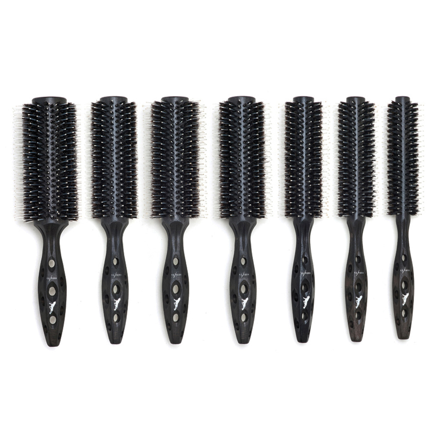 YS Park Extra Small Carbon Tiger Hairbrush