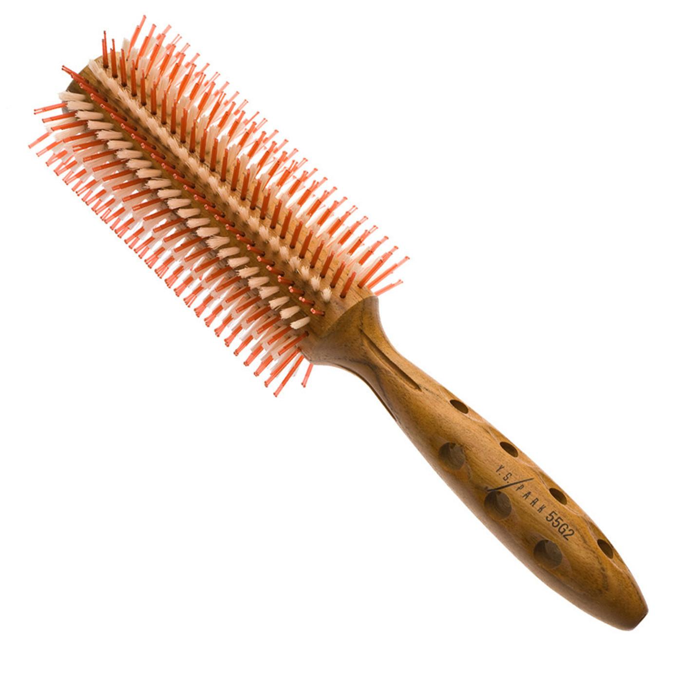 YS Park Medium Super G Series Hairbrush (YS-55G2)