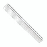 YS Park 334 Basic Cutting Comb with Grip - White