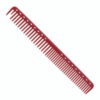 YS Park 333 Long Round Tooth Cutting Comb - Red