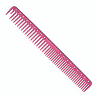 YS Park 333 Long Round Tooth Cutting Comb - Pink