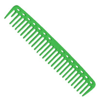 YS Park 452 Big Round Tooth Cutting Comb - Green
