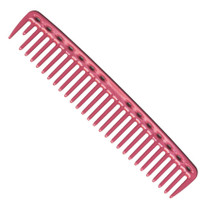 YS Park 452 Big Round Tooth Cutting Comb - Pink