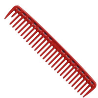 YS Park 452 Big Round Tooth Cutting Comb - Red