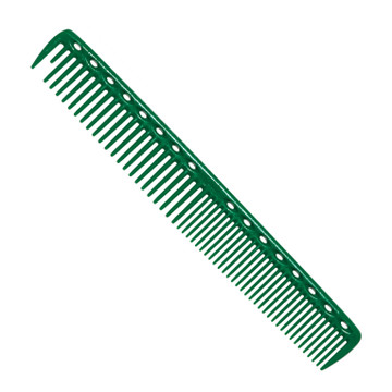 YS Park 337 Round Tooth Cutting Comb - Green